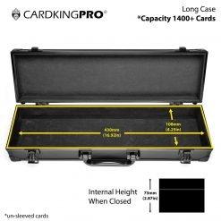 Cardkingpro Long Card Storage Case