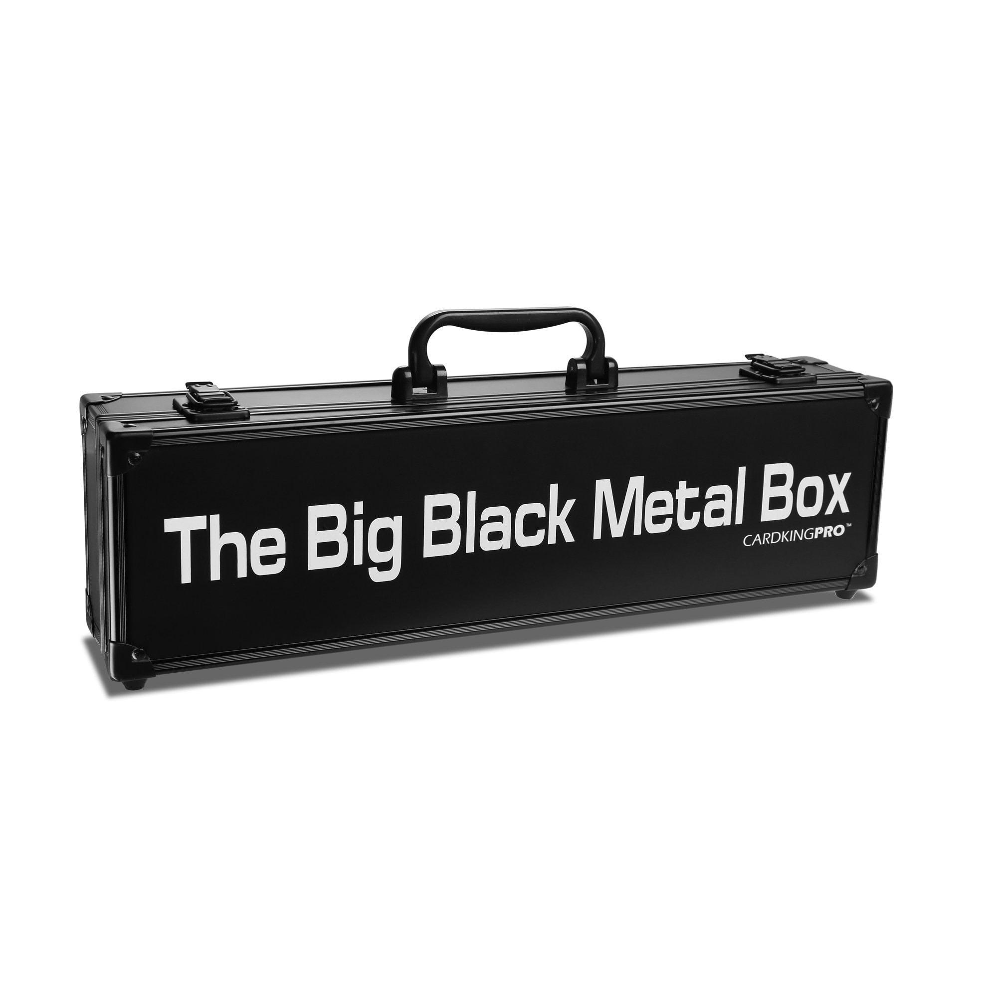 The Big Black Metal Box | LONG | Professional Storage Case