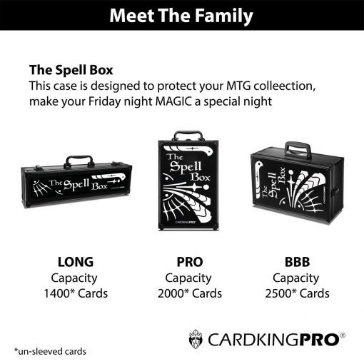 Cardkingpro Meet The Family Image Showing The Spell Box Cases