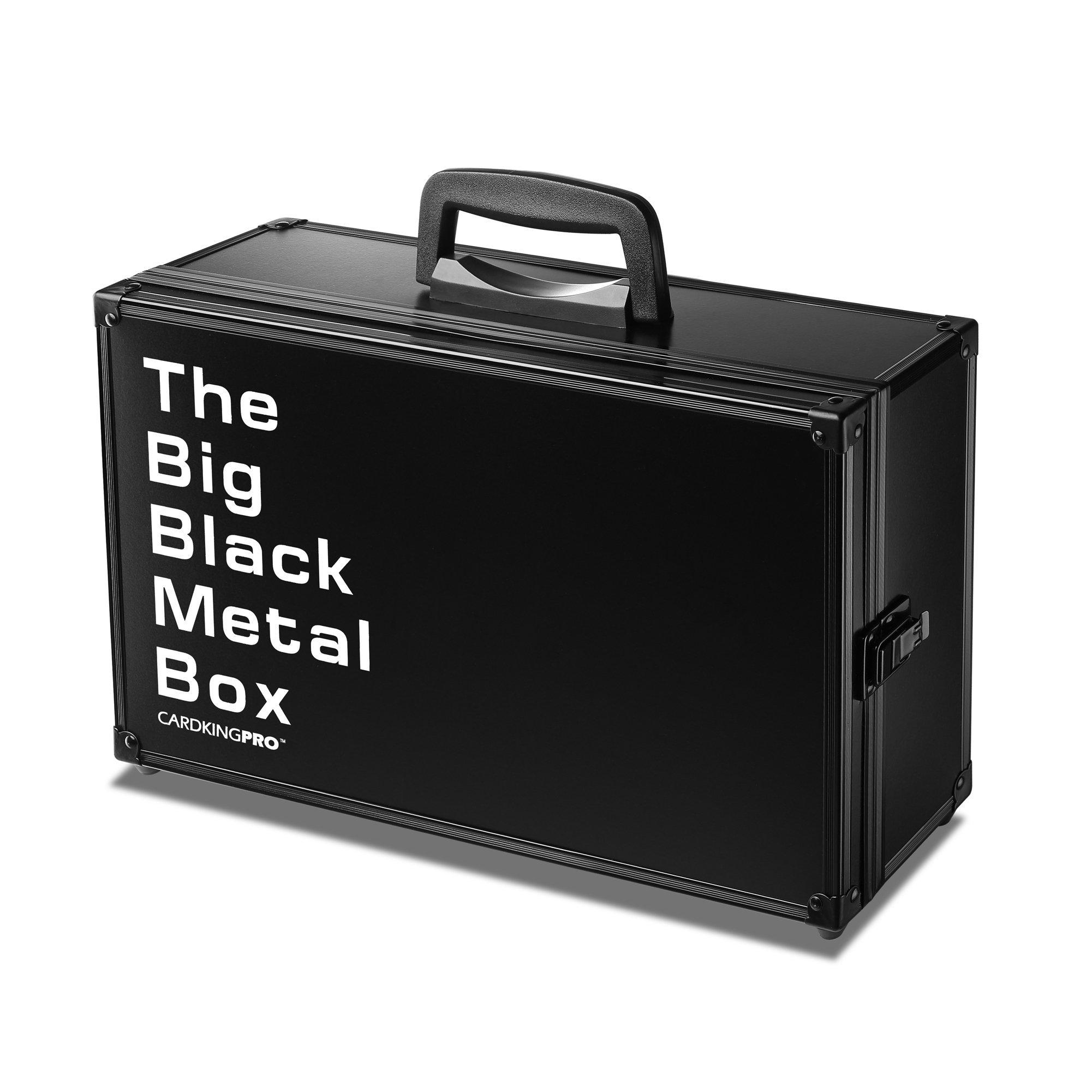 Cardkingpro RPG Game Storage Case BBB Large With The Big Black Metal Box Logo