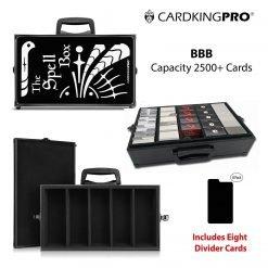 Cardkingpro BBB RPG Storage Case Spell Box Version Inside & Outside