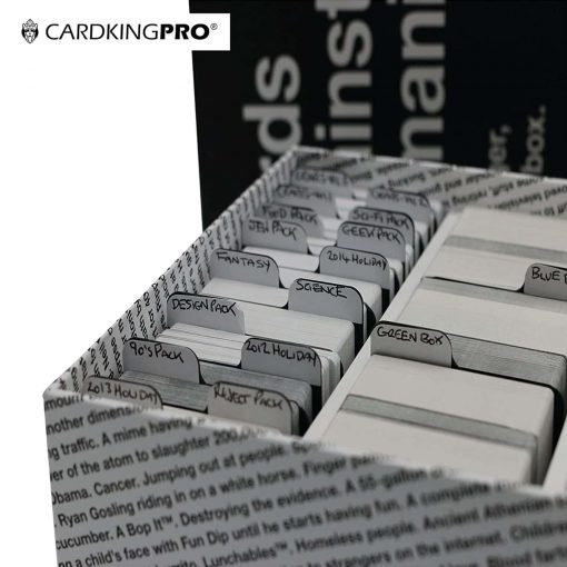 Cardkingpro Index RPG Case Divider Cards In Cards Against Humanity Bigger Blacker Box