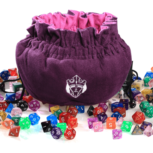 Pleasing Immense Dice Bags With Pockets Purple Capacity 150 Evergreenethics Interior Chair Design Evergreenethicsorg