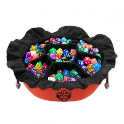 Cardkingpro Immense Dice Bags with Pockets – Burnt Orange