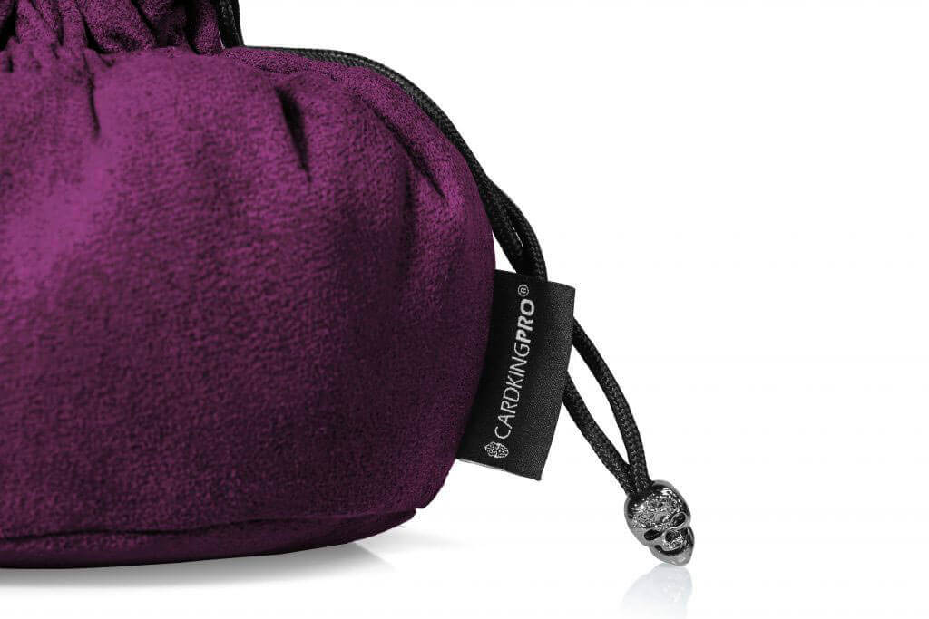 Cardkingpro Immense Dice Bags with Pockets – Purple