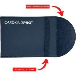 UV Protective Graded Card Sleeve Small Window With Michael Jordan PSA Card Rear