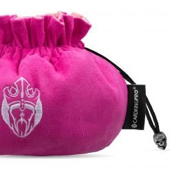 Immense Dice Bags with Pockets – Pink