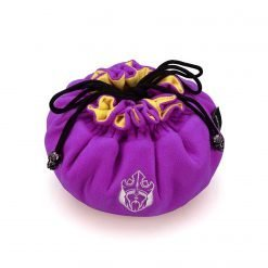 Immense – OCD Edition – Dice Bags with 15 Pockets – Purple/Yellow