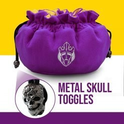 Immense – ODD Edition – Dice Bags with 15 Pockets – Purple/Yellow