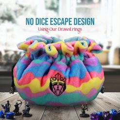 CardKingPro Immense – ODD Edition – Dice Bags with 15 Pockets – Capacity 200+ Dice – Great for Dice Hoarders