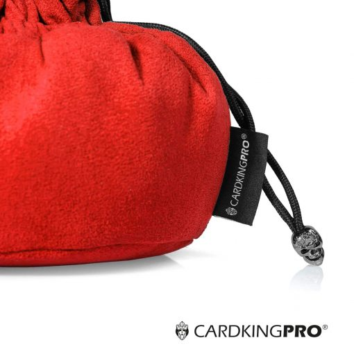 Immense Dice Bags with Pockets – Red