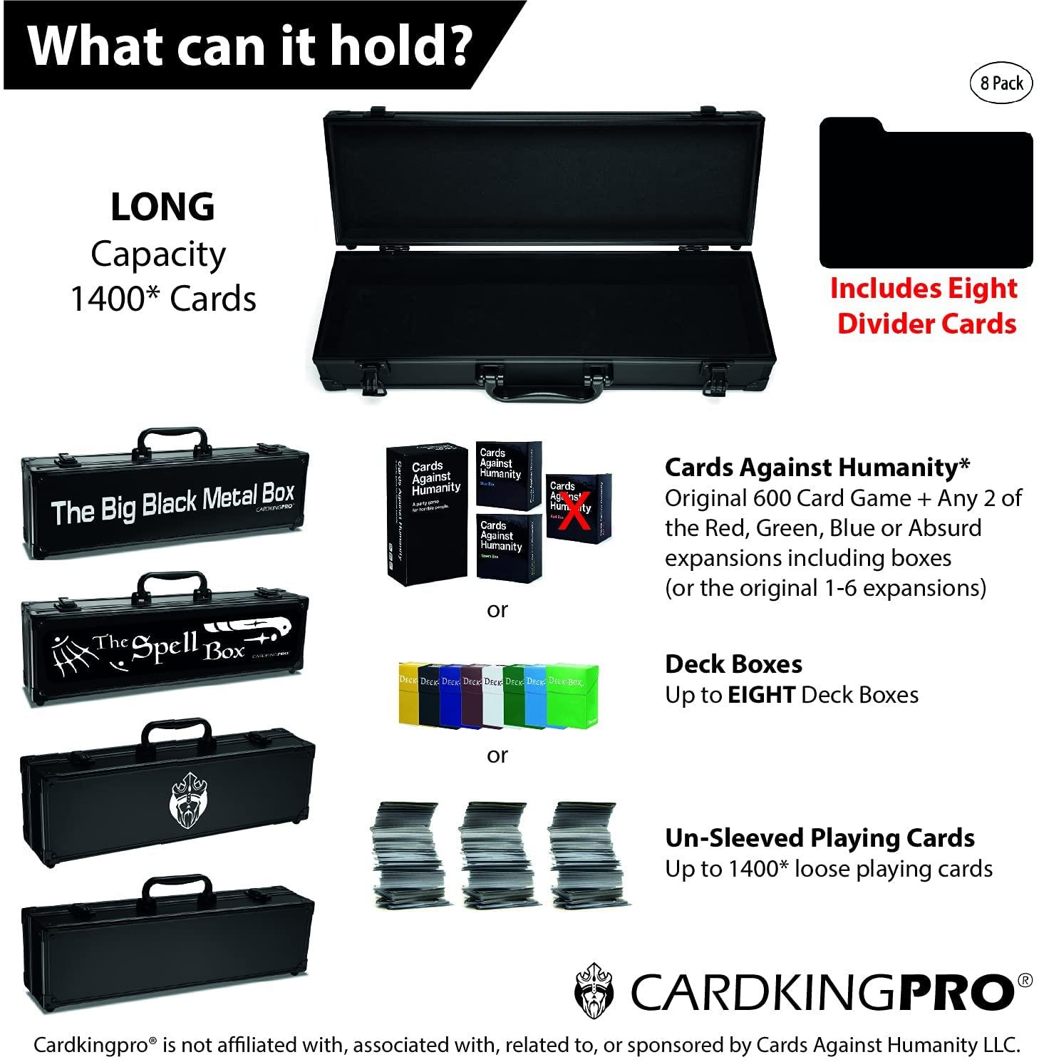LONG Capacity 2400 Cards