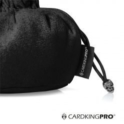 Cardkingpro Immense Dice Bags with Pockets – Black Colored