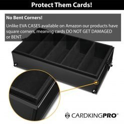 Cardkingpro BBB RPG Game Storage Case No Round Corners Showing Inside Of Case