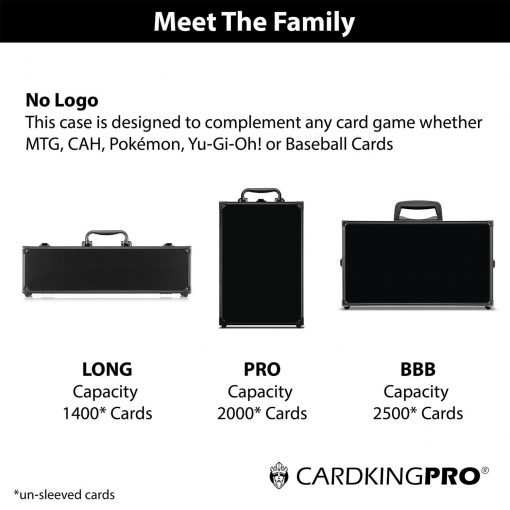 Cardkingpro Meet The Family Image Showing Cases with No Logo